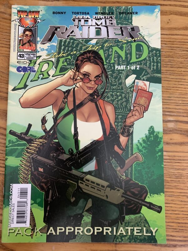 Tomb Raider #43 (2004) - Adam Hughes, Top Cow Image Comics