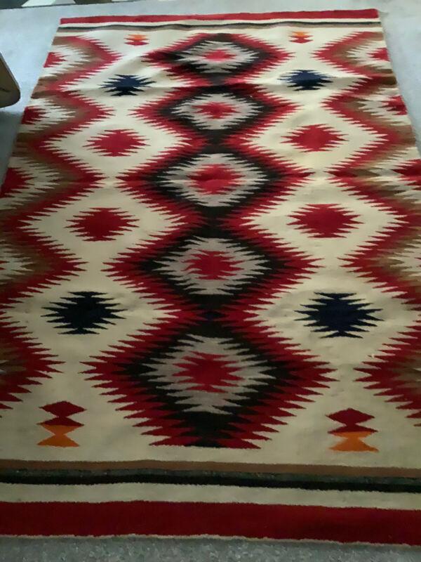 vintage navajo blanket rug