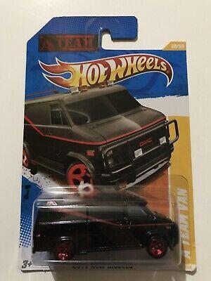 Hot Wheels 2011 New Models 39/50 A Team Van 39/244, black