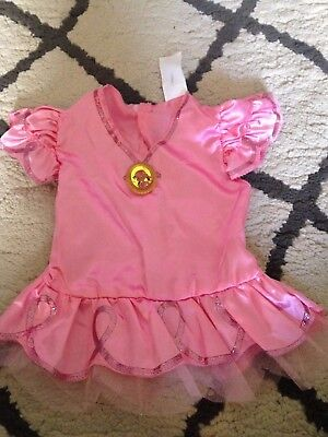 New Izzy Costume Disney Jake And The Neverland Pirates  Girls 2t w/booties