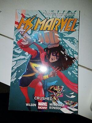 Ms 4 Wilson Miyazawa Marvel Comics Grpahic Novel Hardcover NEW Marvel Vol