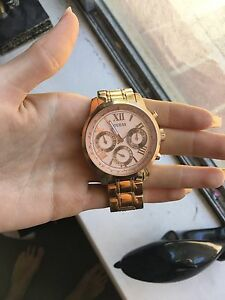 Rose gold Guess watch Quinns Rocks Wanneroo Area Preview