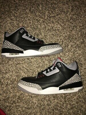 Nike Air Jordan 3 Retro Black Cement Size 12 OG EVERYTHING](Everything Shoes)