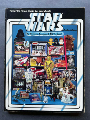 Star Wars Tomart's Price Guide To Collectibles 1994 1st Printing Sansweet Book