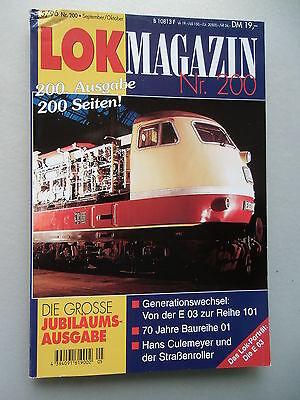 LOK Magazin Eisenbahn gestern heute morgen 5/96 Nr. 200 Sept./ Okt.