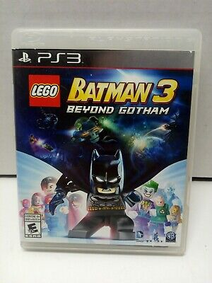 LEGO Batman 3: Beyond Gotham for PlayStation 3 PS3 Complete TESTED Fast Shipping