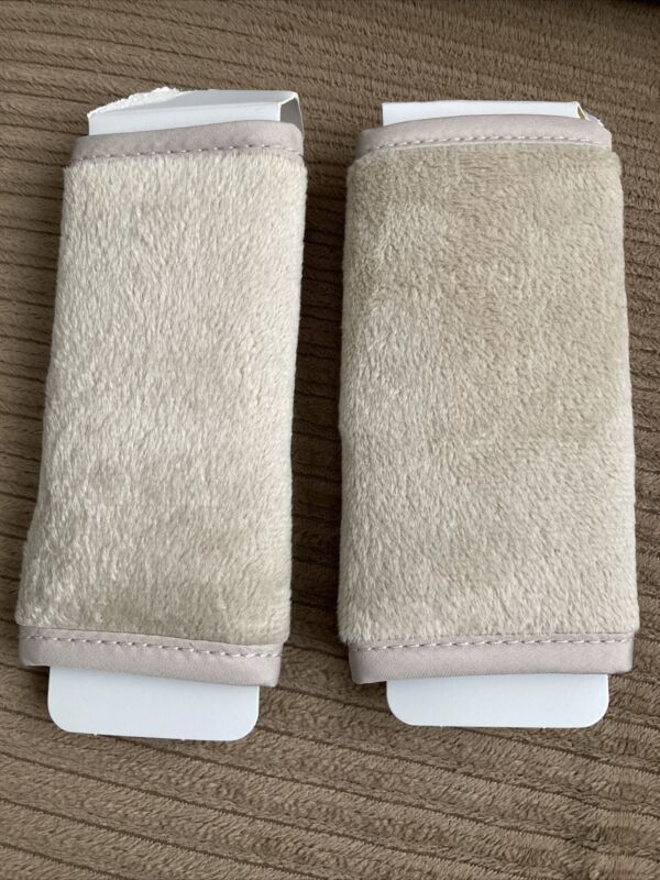 Go by Goldbug Tan Strap Covers Great for Car Seats Strollers & More Reversible