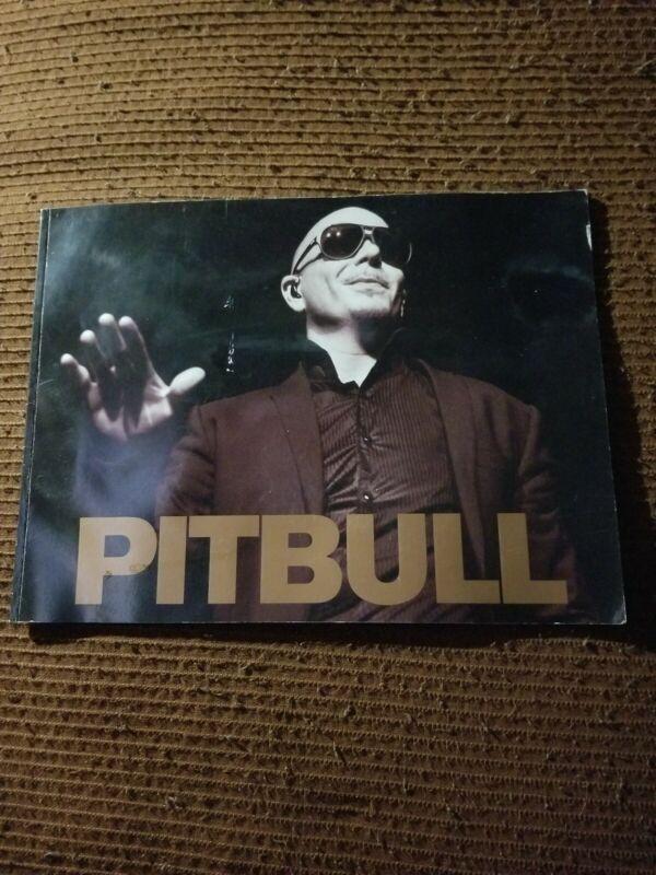 PITBULL SIGNED TOUR PROGRAM