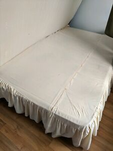Free double bed - no mattress