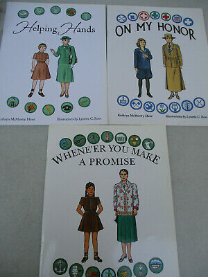 Paper Doll Girl Scout Uniform History Set Vintage Original Unused Costume 1980s  - Girl Scout Uniform Costume