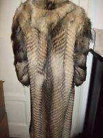 Pelliccia Coat Mantel Fur Pelz Coyote Kojote Full Lenght Volpe Fuchs Fox Cm 125 - fuchs - ebay.it