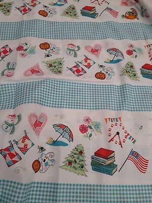 (New-100% Cotton - Windham Fabrics Nebraska Shop Hop Design No 42064)