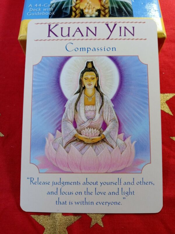 Kuan Yin - Single Card Replacement - Authentic Goddess Guidance Doreen Virtue