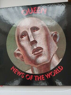 Queen News Of The World 3xcd And 1 X DVD in book fantastic condition