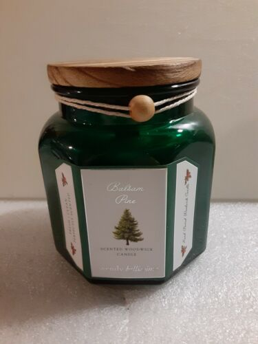 New Wendy Bellissimo Balsam Pine Scented 13.2oz Woodwick Candle  - $25.00