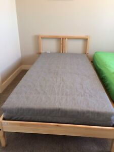 IKEA twin bed and mattress