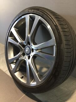 "MERCEDES E350 MY17 19"" STAGGERED GENUINE ALLOY WHEELS AND TYRES"