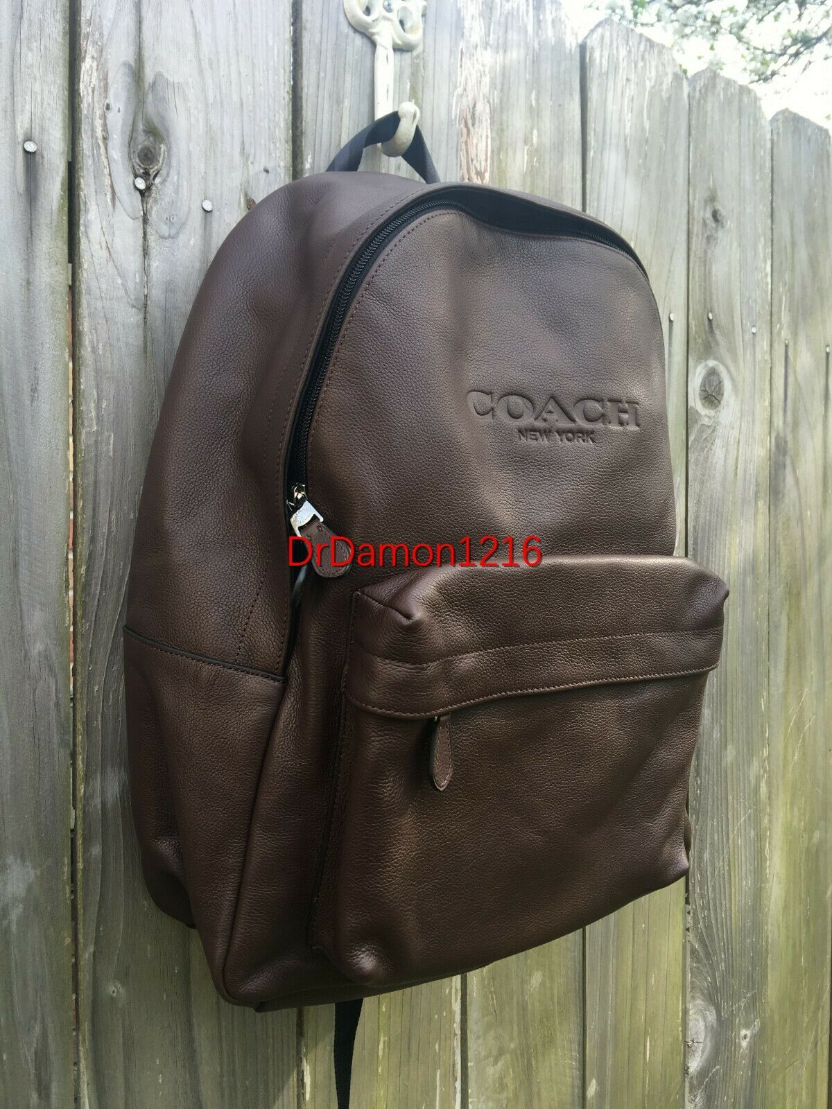 Coach Set F54786 Charles Black Mens Backpack Coach F74991 Compact ID Wallet