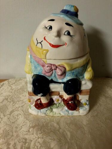 Vintage Humpty Dumpty Cookie Jar - Bico China