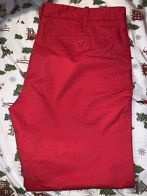 NWOT Nautica Men Pants Estate 40X32 Deck Classic-Fit Stretch $65- 136