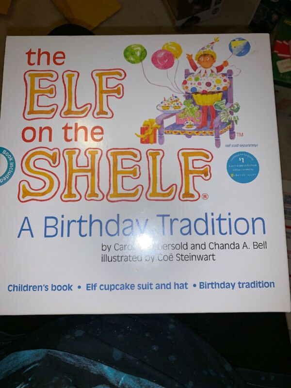 Elf On The Shelf Birthday Tradition Elf Costume