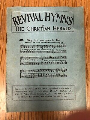 Revival Hymns - Christian Herald (London, England) - 1920s Evangelical Songbook
