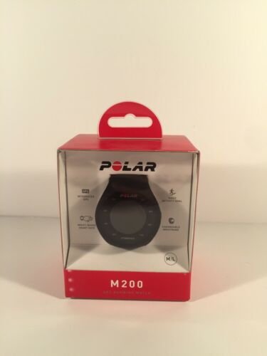 Polar - M200 Gps Heart Rate Monitor Running Watch - Black