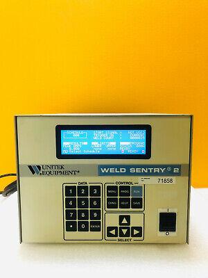 Unitek Miyachi 3-131-02 Weld Sentry 2 Digital Display Welding Control Monitor.