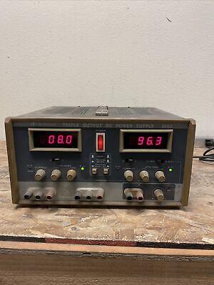 Bk Precision Triple Output Dc Power Supply 1660