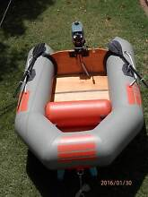 Zodiac Z 2.6 Inflatable Dinghy with 3.5 HP Tohatsu 2 Stroke Motor Woodville South Charles Sturt Area Preview