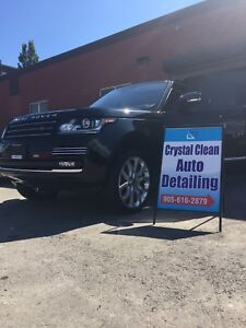 Crystal Clean Auto Detailing!