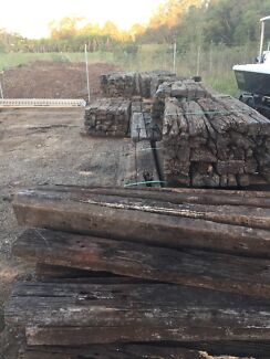 Railway sleepers For sale  Wellington Point Redland Area Preview