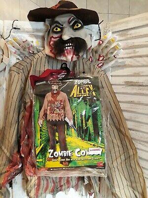 Kostüm Zombie Cowboy Herren Gr.M Halloween Horror Film - Zombie Cowboy Kostüme
