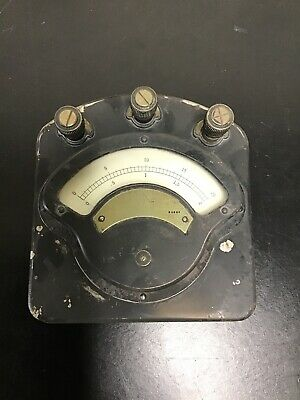 Antique Weston Model 280 Volt-ammeter
