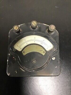 Antique Weston Model 280 Volt-ammeter