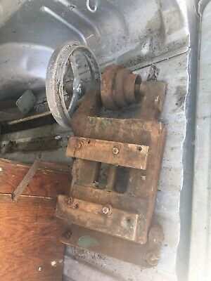 Vintage South Bend Metal Lathe Countershaft Assy Flat Belt Pulley Antique Part