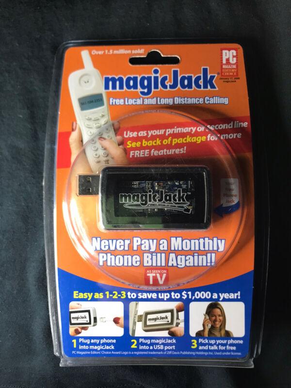 Magic Jack Plus Free local long distance telephone Usb Home Phone Jack New SIB