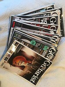 17 UK Guitarist magazines plus supplements Mosman Park Cottesloe Area Preview