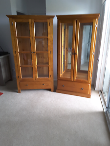 Two Glass Cabinet Package North Lakes Pine Rivers Area Preview