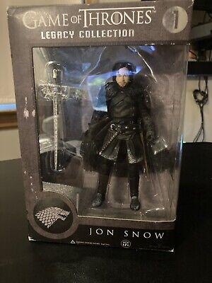 NIB Jon Snow Action Figure Game of Thrones Funko Legacy Collection 2014 Sealed