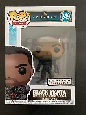 Regal Cinemas Exclusive #249 Funko POP Heroes Aquaman Black Manta Figure NIB