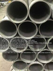 GALVANISED ROUND PIPE-90NB*4MM FOR PLUMBING,BUILDING,FABRICATION Smithfield Parramatta Area Preview