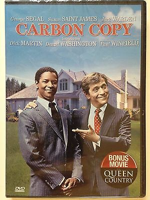 New Sealed   Carbon Copy  Dvd  1981  Rare Oop  Denzel Washington  George Segal