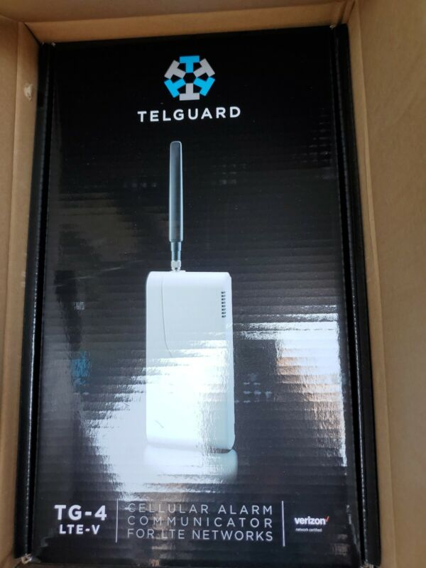 Telguard TG-4 LTE-V Cellular Alarm Communicator for LTE Networks