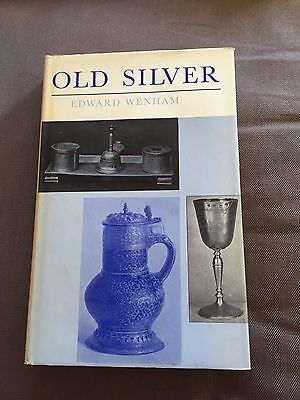 """1964 """"OLD SILVER FOR MODERN SETTINGS"""" ILLUSTRATED HARDBACK BOOK"""