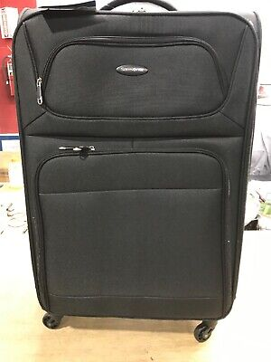 Samsonite Transyt Expandable Softside Luggage Set with Spinner Wheels, 2-Piece.>