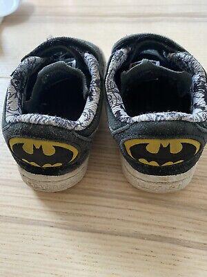 Batman Puma Boys Trainers Infant Size UK 6