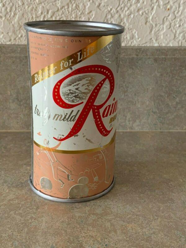 Rainier Flat Top Beer Can - Seattle, WA -NO CONTENTS-EMPTY