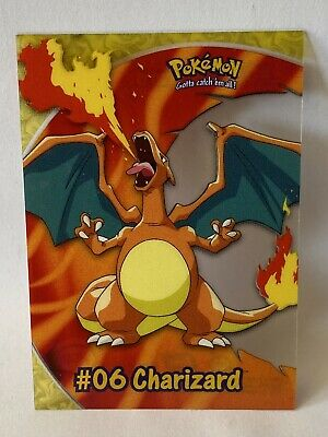 Pokemon Topps Clear #06 Charizard PC3 Card LP/NM