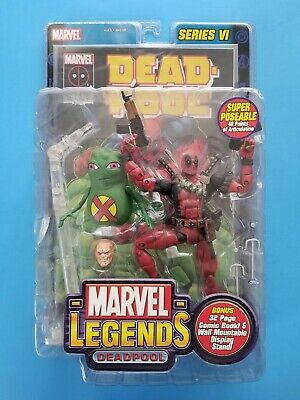 "Toy Biz 2004 Marvel Legends Series VI Deadpool 6"" Figure New Sealed"